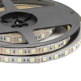 Tira LED HQ SMD5050, DC12V, 5m (60 Led/m) - IP20, Rojo